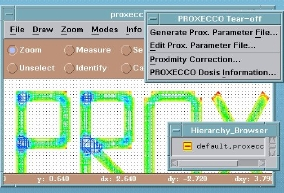 Picture of Software - Proxecco proximity correction