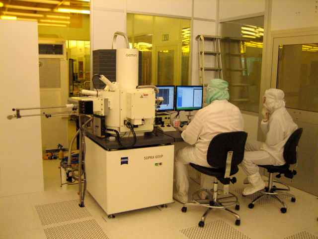 Picture of SEM - Zeiss Supra 60 VP - EDX