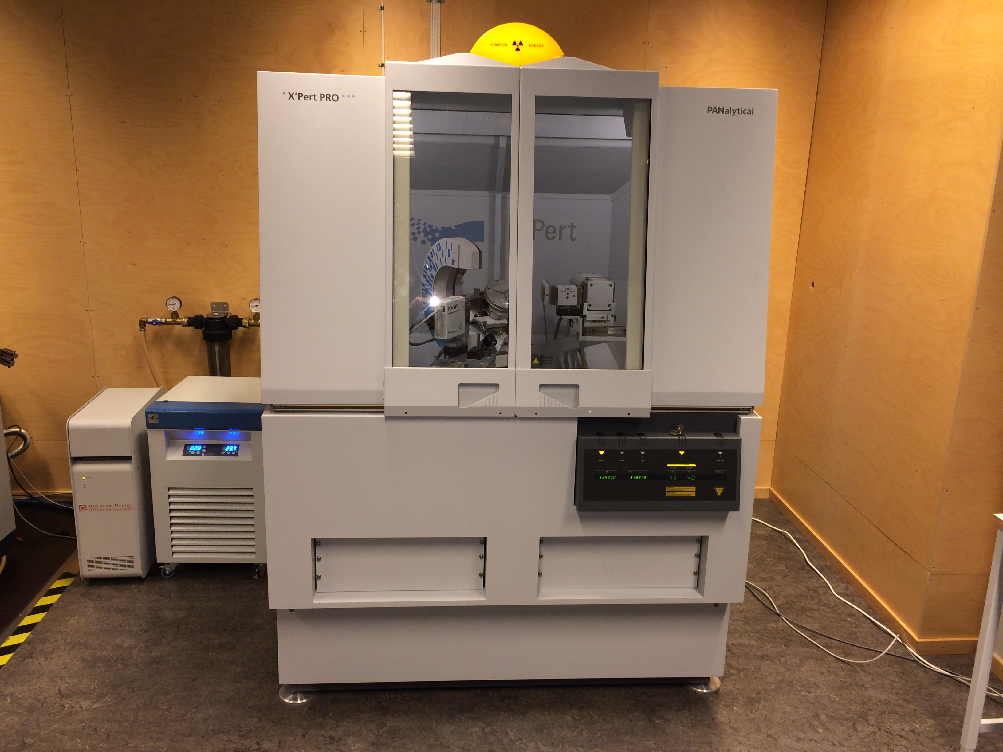 Picture of Diffractometer Xray - Panalytical X'Pert