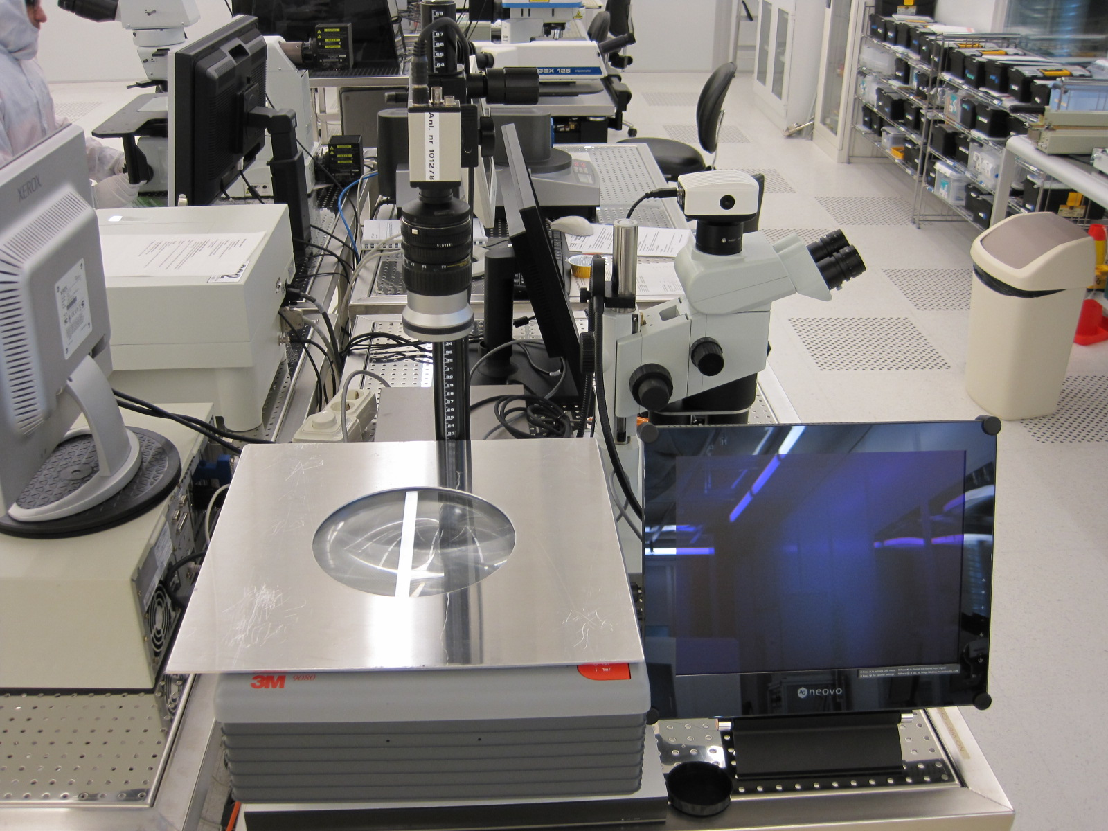 Picture of Wafer Inspection System - IR